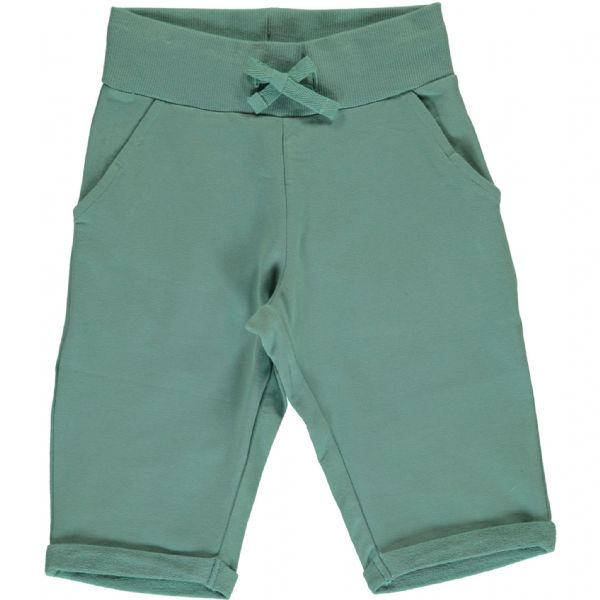 Maxomorra Knee Shorts Pale Army